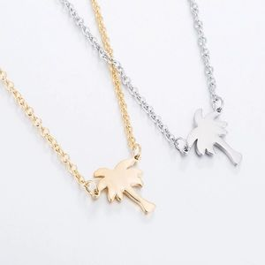 Jewelry - Silver or Gold Palm Tree Necklace